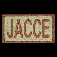 JACCE Duty Identifier Tab / Patch (Minimum order 25pcs)