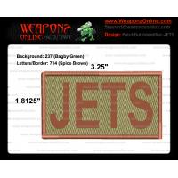JETS Duty Identifier Tab / Patch (Minimum order 25pcs)
