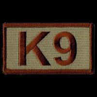 K9 Duty Identifier Tab / Patch