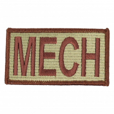 MECH Duty Identifier Tab / Patch (Est. ship August 13th)