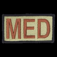 MED Duty Identifier Tab / Patch (Black Border)