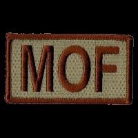 MOF Duty Identifier Tab / Patch (Minimum order of 25)