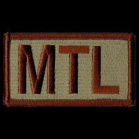 MTL Duty Identifier Tab / Patch