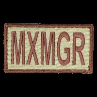 MXMGR Duty Identifier Tab / Patch