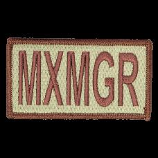 MXMGR Duty Identifier Tab / Patch (Est. ship August 13th)