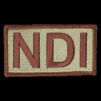 NDI Duty Identifier Tab / Patch