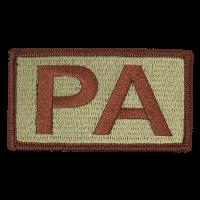 PA Duty Identifier Tab / Patch