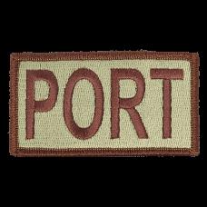 PORT Duty Identifier Tab / Patch