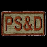 PS&D Duty Identifier Tab / Patch