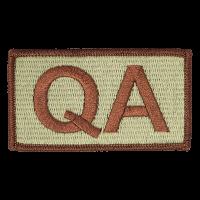 QA Duty Identifier Tab / Patch