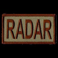 RADAR Duty Identifier Tab / Patch