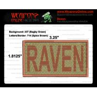 RAVEN Duty Identifier Tab / Patch (Minimum order 25pcs)