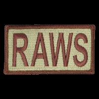 RAWS Duty Identifier Tab / Patch