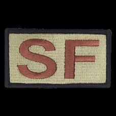 SF Duty Identifier Tab / Patch (Black Border)