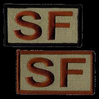 SF Duty Identifier Tab / Patch