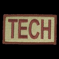 TECH Duty Identifier Tab / Patch