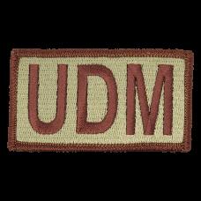 UDM Duty Identifier Tab / Patch