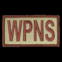 WPNS Duty Identifier Tab / Patch