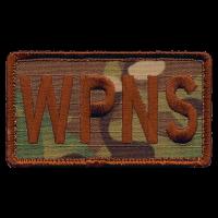 WPNS Duty Identifier Tab / Patch (OCP background)