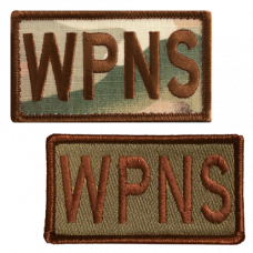 WPNS Duty Identifier Tab / Patch  (Back Order: Est. March 22nd)
