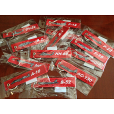 (Mixed/Group Buy) Discounted Remove Before Flight Keychains