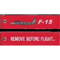 F-15 Remove Before Flight ®