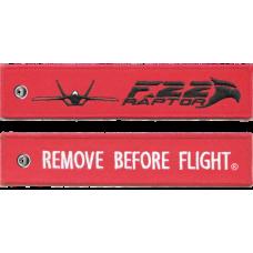 F-22 Raptor Remove Before Flight ®