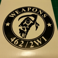 Weapons 462/2W1 Decal (1 Color)