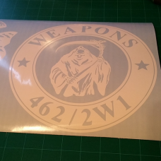 Weapons 462/2W1 Decal (Big)