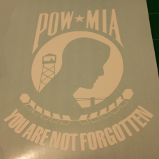 POW/MIA Decal (1 Color)