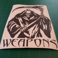 Weapons Reaper Decal