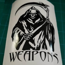 Mini Weapons Reaper Decal