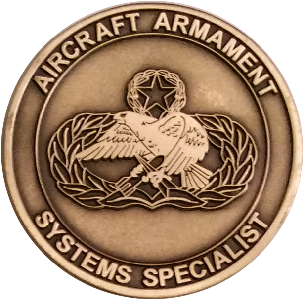 Custom Weapons Challenge Coin