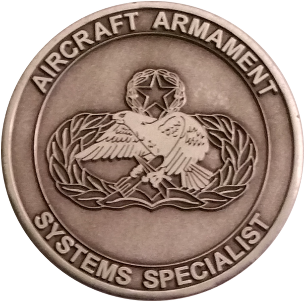 Custom 462 Challenge Coin