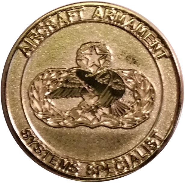 Custom Armament Systems Challenge Coin