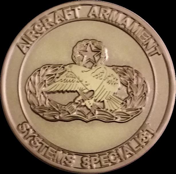 Custom 2W1X1 Challenge Coin